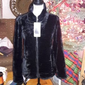32° Heat Faux Fur Fleece Jacket